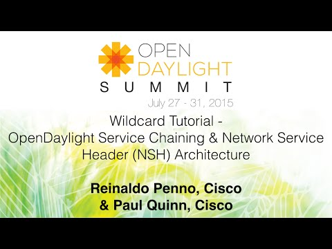 Wildcard Tutorial - OpenDaylight Service Chaining & Network Service Header (NSH) Architecture