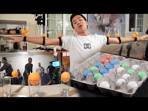 6 MORE Creative Party Games With Ping Pong Balls (Minute to Win It)