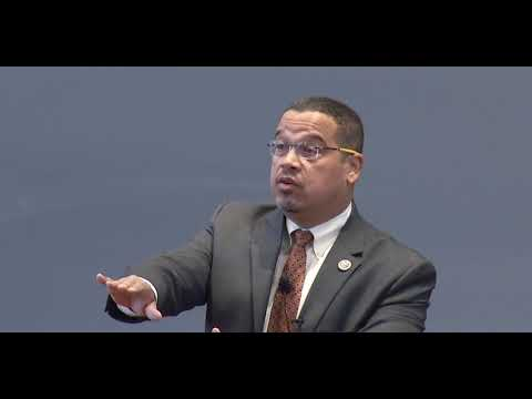 Rep. Keith Ellison at The Harvard Law Forum