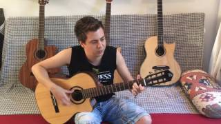 The Unforgiven (Metallica) - Acoustic Guitar Lessons by Thomas Zwijsen