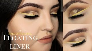 FLOATING/INVISIBLE EYELINER NO LINER MAKE-UP TUTORIAL // MORPHE 35O PALETTE