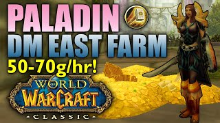 Paladin Dire Maul (DM) East Solo Farming Guide/Walkthrough (WoW Classic)