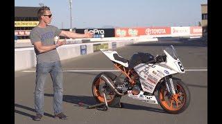 Ari's KTM RC390 Racebike Walkaround