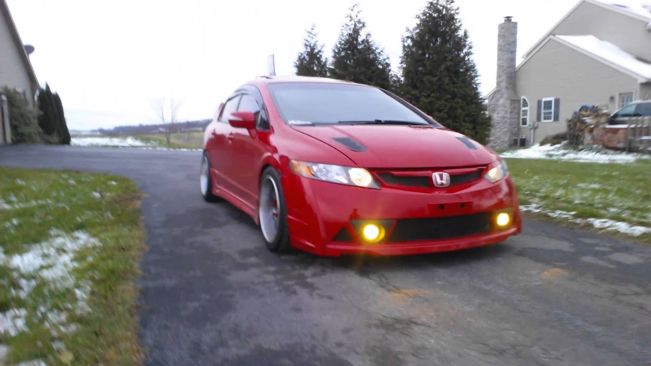Dope 8th gen civic si youtube publicscrutiny Image collections