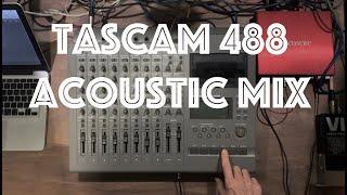 Tascam 488 Mk1 Acoustic Mix