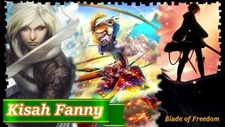 kisah nyata hero fanny cantik yang menjadi pahlawan blade of freedom sasageyo