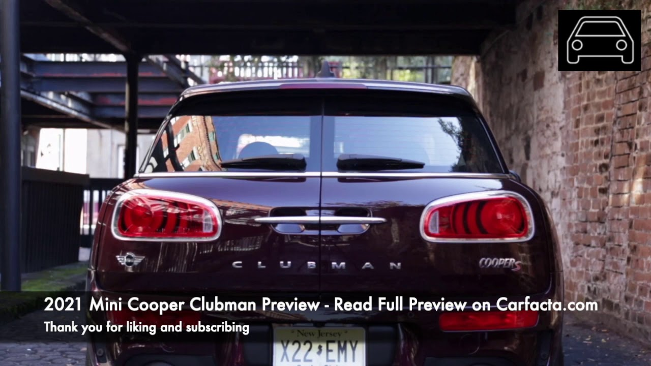 2021 Mini Cooper Clubman Redesign and Concept
