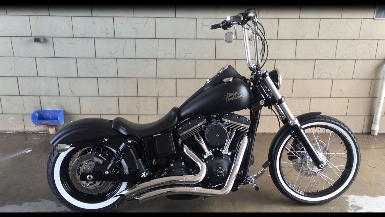 dyna fxdb street bob bobber youtube. Black Bedroom Furniture Sets. Home Design Ideas