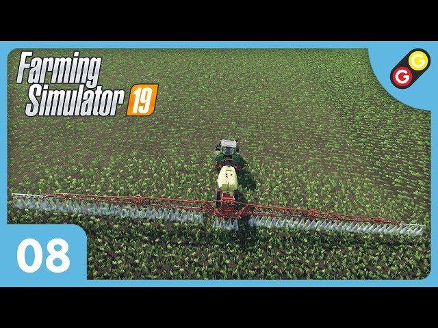 Farming Simulator 19 #08 On pulvérise un champ ! [FR]
