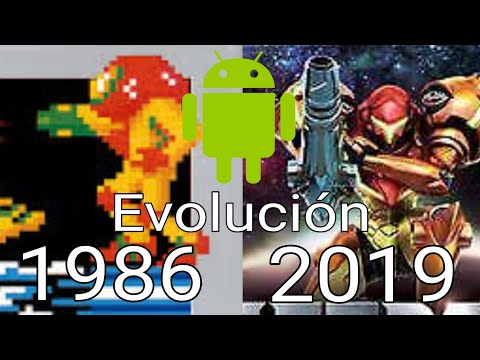 Evolución Android: Metroid (1986 - 2019) Android 2019