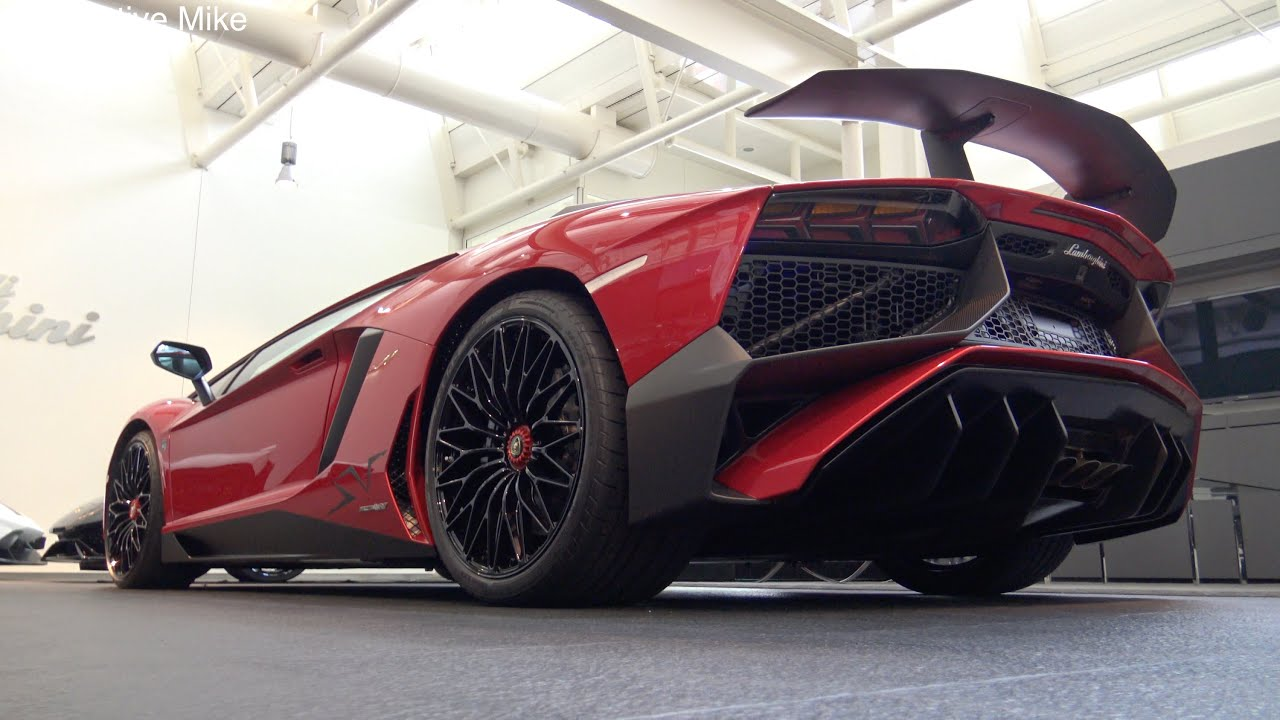 4k) first lamborghini aventador sv in the netherlands - youtube