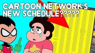 WHAT IS THE DEAL WITH CARTOON NETWORK'S NEW SCHEDULE?? [RANT]