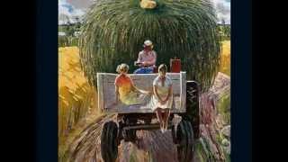 Советская живопись.  Страда полевая(Замечательная подборка живописных работ, объединенная темой