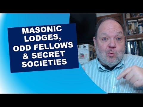 Masonic Lodges, Odd Fellows And Secret Societies