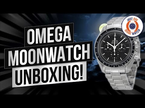 Omega Speedmaster Professional Moonwatch Unbox Review Youtube