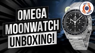 Omega Speedmaster Professional Moonwatch - Unbox & Review