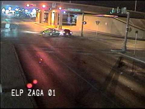 El Paso, TX. Crash at Zaragoza and Gateway East