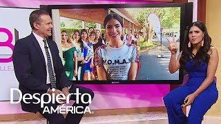Francisca recuerda cuando madrugó para audicionar en Nuestra Belleza Latina