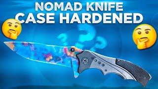 BLUE GEM??? 😱 [ Nomad Knife Case Hardened Unboxing ]