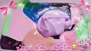bye rip slime glossy clear etc mixing slime collection update 3