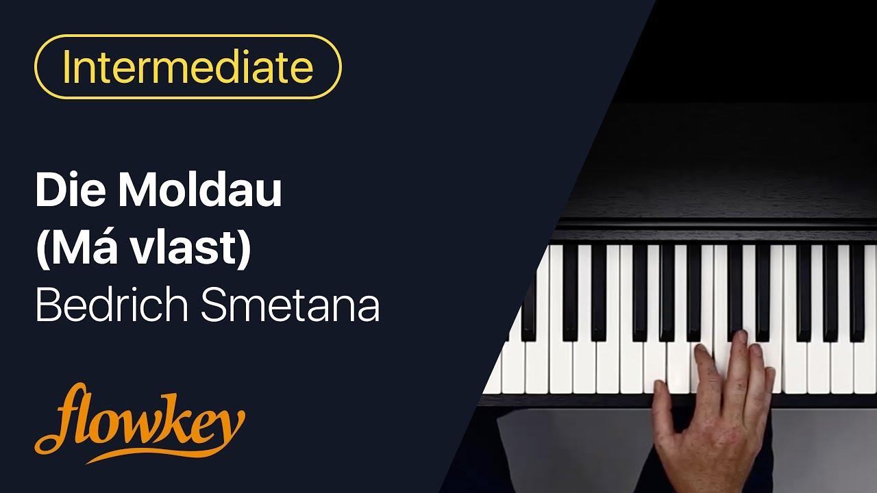Bedrich Smetana Die Moldau Má Vlast Easy Piano Arrangement