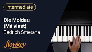 Bedrich Smetana – Die Moldau (Má vlast): Easy Piano Tutorial