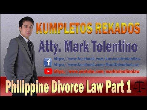 KR: Philippine Divorce Law Part 1
