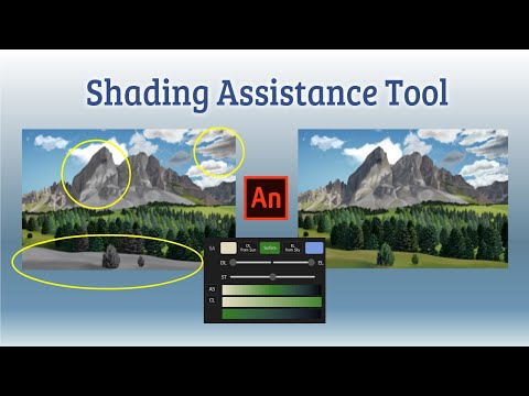 SA(Shading Assistance) Tool | Adobe Animate CC | PAI, Free Painting Assistant Extension