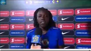 Concacaf U17 Women's Championship: Haiti vs Grenada: Nerilia's Interview