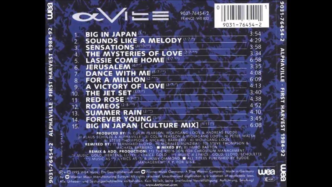 Big In Japan Lyrics