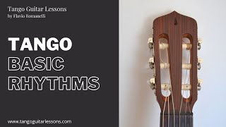 How to play Tango - Guitar lessons (Basic rhythms)
