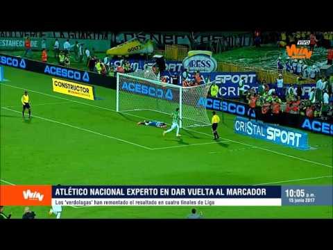Atlético Nacional, experto remontadas | Win Sports