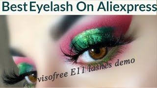 Eyelashes:Best Eyelashes on Aliexpress | Eyelashes Honest Review| Aliexpress Eyelash Haul