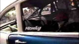 Monte Berney's Big Bertha Pro Street 1955 Chevy V8TV-Video