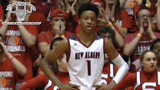 10th Grader Romeo Langford Drops 46 Pts in Semi State in front of Pitino