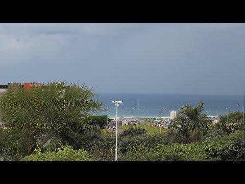 Timelapse of Durban storm advancing on Umhlanga/ La Lucia Ridge