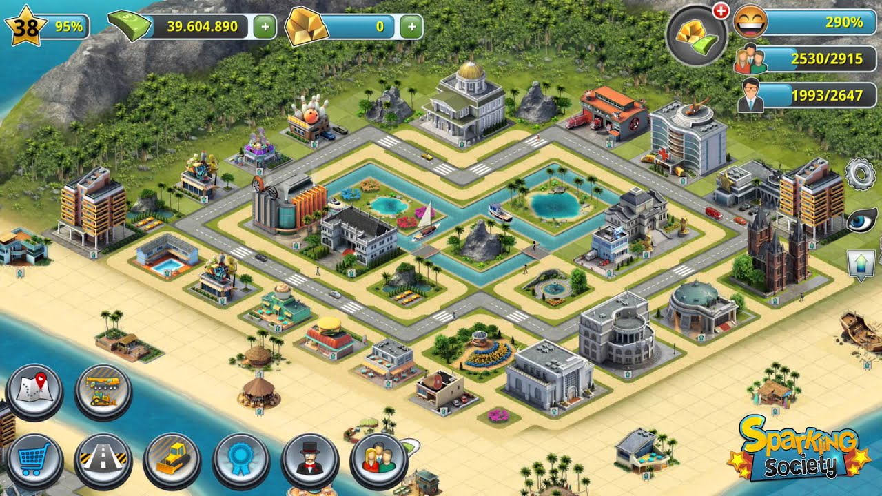 City island building sim youtube