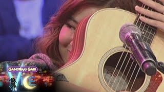GGV: Moira dela Torre gets emotional while singing 'Sana Ngayong Pasko'