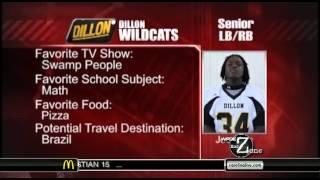 Mallard Creek 27  Dillon 21