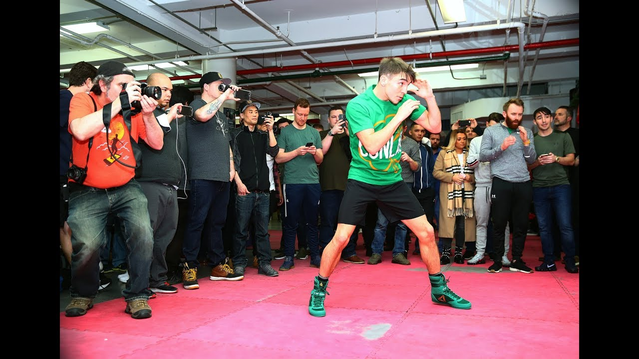 Media Workout: Michael Conlan