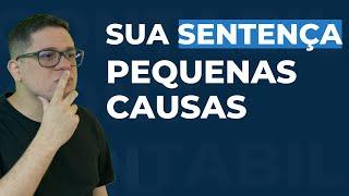 SENTENÇA - PEQUENAS CAUSAS - JUIZADO ESPECIAL CÍVEL