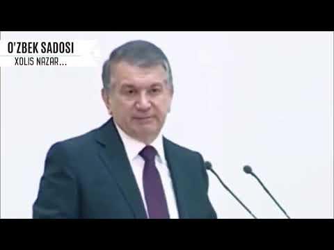 Ш.Мирзиёев - ГАПЛАРИДАН ХАММА ШОКДА! | Узбекистан