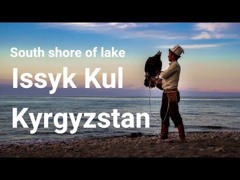 Fun things to do around lake Issyk Kul - KYRGYZSTAN ( Bel Tam yurt camp and EAGLE HUNTERS )
