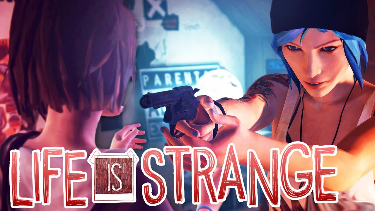 Download CHLOE NEARLY SHOOTS MAX IN THE FACE WITH HER GUN :O - Life Is Strange - Part 2