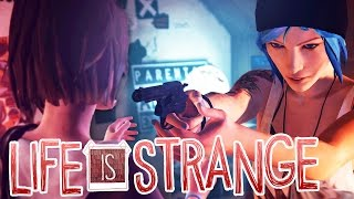CHLOE NEARLY SHOOTS MAX IN THE FACE WITH HER GUN :O - Life Is Strange - Part 2