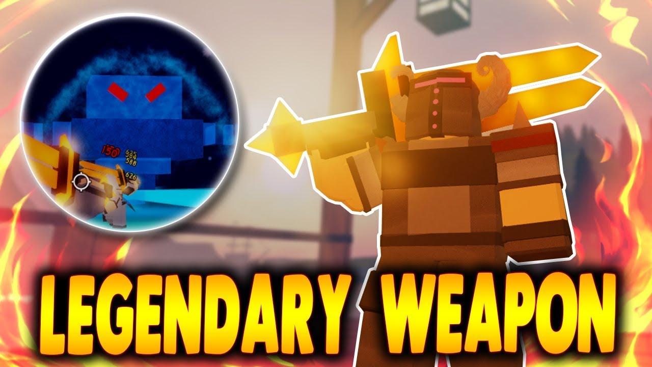 Legendary Sword Beating Ice Elementalist Boss In Winter Outpost