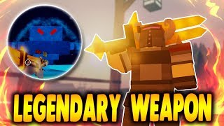 LEGENDARY SWORD! Beating Ice Elementalist BOSS in Winter Outpost | Dungeon Quest in Roblox