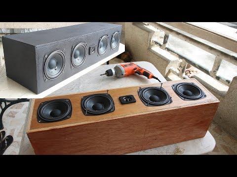 DIY Center Speaker (a repainting update)
