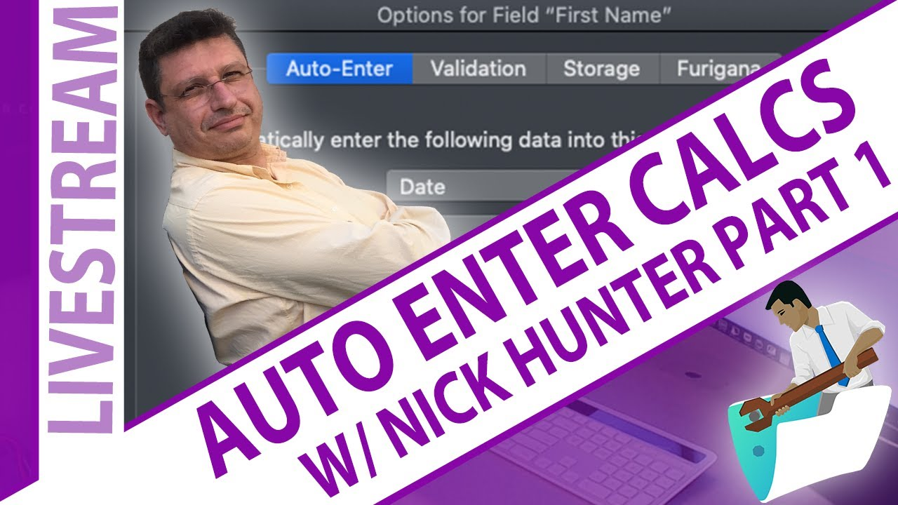 Download FileMaker Auto Enter Calculation - VERY FAST - With Nick Hunter Part 1