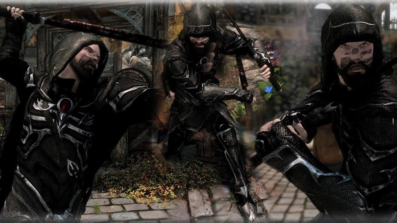 skyrim assassin armor